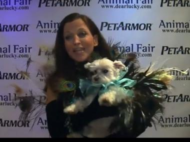 Hostess Wendy Diamond emceed the 11th annual Animalfair.com Pet Costume Contest, Oct. 27, 2011.