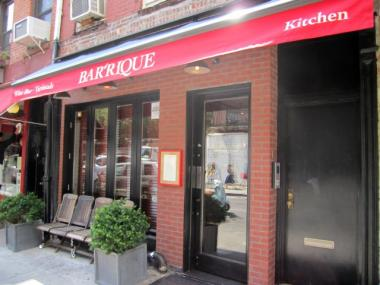 Health inspectors shut down the Bleecker Street restaurant and wine bar Bar'rique on Oct. 28, 2011.