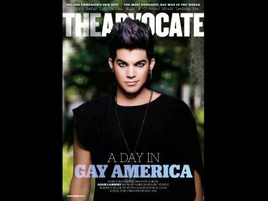 The Advocate said they've seen unprecedented demand for their November 2011 issue, which features singer Adam Lambert on the cover.