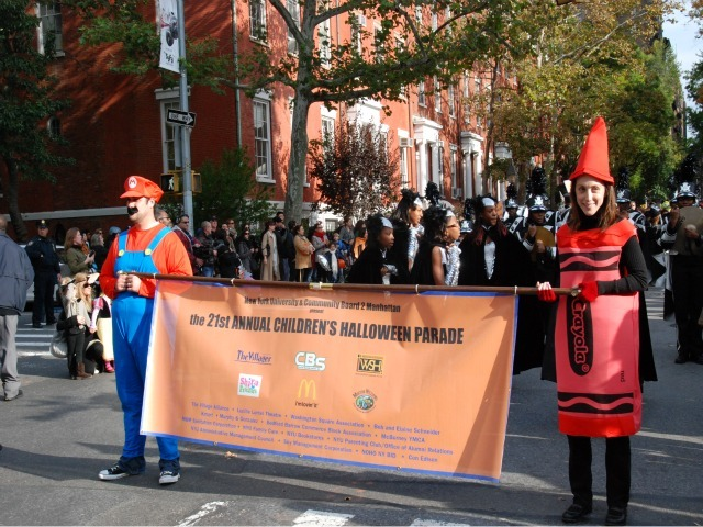 <p>The family-friendly annual Children&#39;s Halloween Parade took place in the Village hours before the bigger, world famous parade strutted up Sixth Avenue.</p>