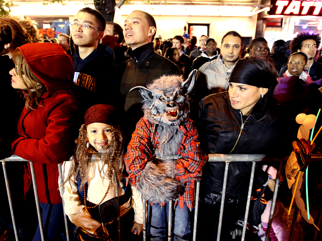 <p>People of all ages enjoyed this year&#39;s Halloween parade.</p>