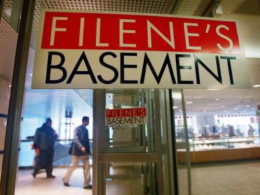 Syms and its subsidiary Filene's Basement filed for bankruptcy on Nov. 2, 2011.