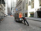 Food Vendors Return to Wall Street After OWS Barricades Scaled Back
