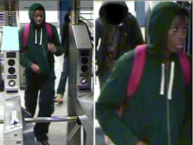 This is one of the men wanted for a string of robberies at the 7th Avenue/53rd Street station in October and November 2011.