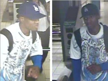 This is one of the men wanted for a string of robberies at the 7th Avenue/53rd Street subway station in October and November 2011.