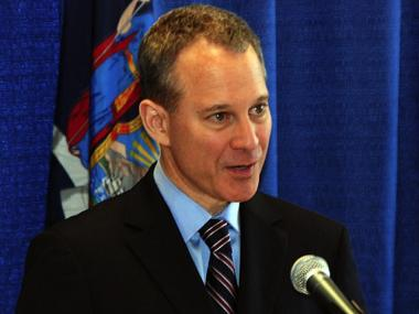 Attorney General Eric Schneiderman.