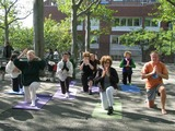 Yoga-Loving Seniors Reach Park Peace Accord Over Exercise Equipment