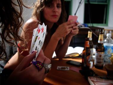 Fun strip card game