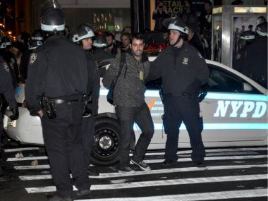 DNAinfo News Editor Patrick Hedlund was among several reporters arrested during coverage of the OWS protests on Nov. 15, 2011.