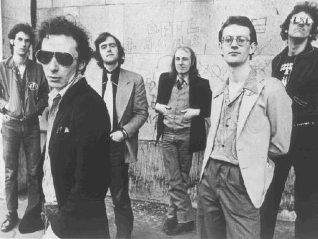 Graham Parker (second from left) - pictured here with his band The Rumour - plays Iridium Saturday, Sunday and Monday night.