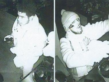 Two suspects in a burglary of Souen Restaurant on Nov. 13 or 14, 2011 are thought to be between 19 and 27 years old, police said.