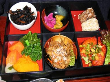 Souen's three locations serve vegetarian, macrobiotic food.