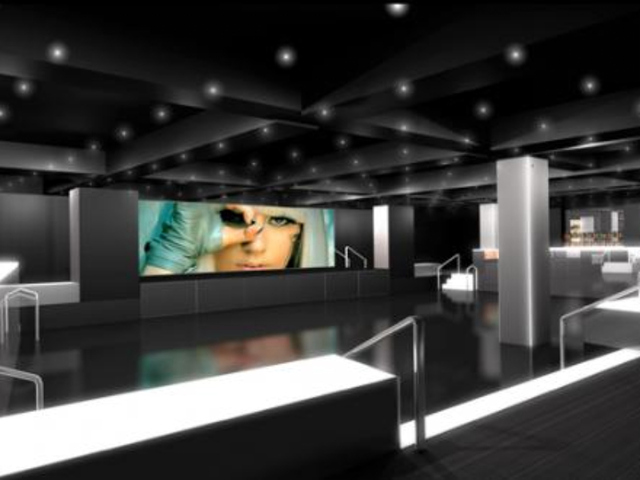 A rendering of XL Nightclub's dance floor. The new club is set to open in Hell's Kitchen in January 2012