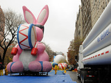 Macy's Thanksgiving Day Parade Balloons Inflate Spirits