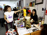 Pop-Up Bookstore Negotiating Longer Stay in WaHi