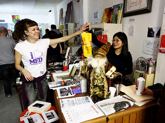 <p>Word Up bookstore has become a popular venue since it opened in June 2011.</p>