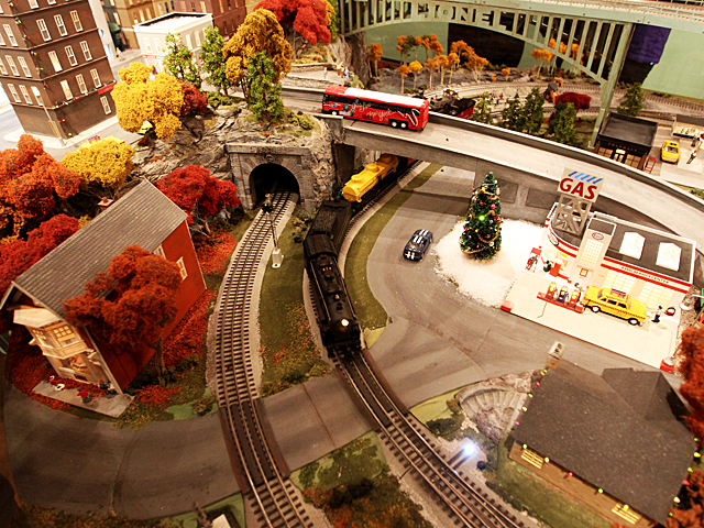 The Holiday Train Show on display at Grand Central Terminal on Nov. 27th, 2011.