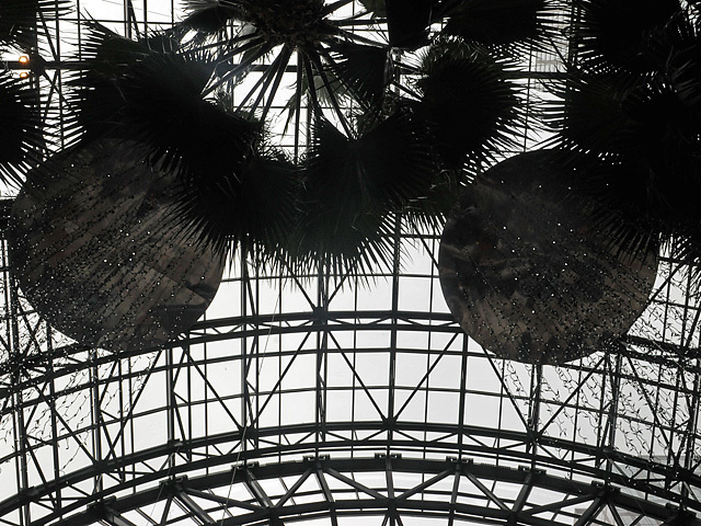 The New York City Ballet performed The Nutcracker under the glass-vaulted ceiling of the Winter Garden on Nov. 29, 2011.