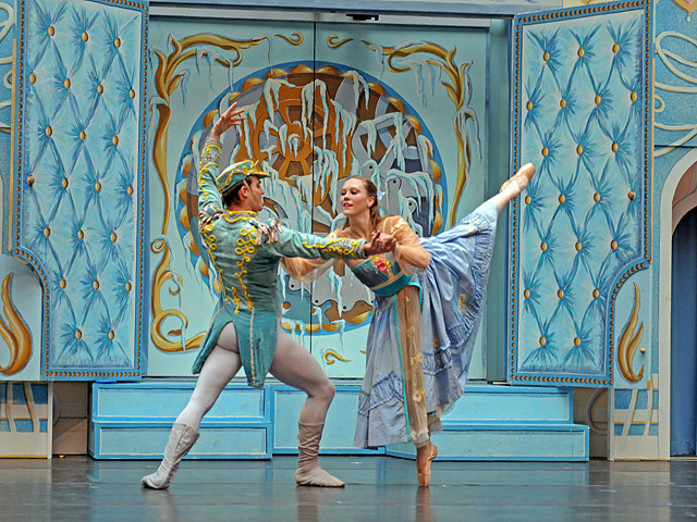 The New York Theatre Ballet performs The Nutcracker at the Winter Garden atrium in the World Financial Center on Nov. 29, 2011.