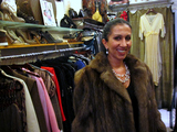 A Kardashian Offers Vintage Fashion on the East Side