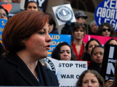 Christine Quinn has opposed paid sick leave legislation for fear it will hurt businesses.
