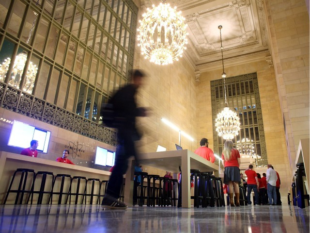 The new Apple Store in Grand Central is set to open on Friday.