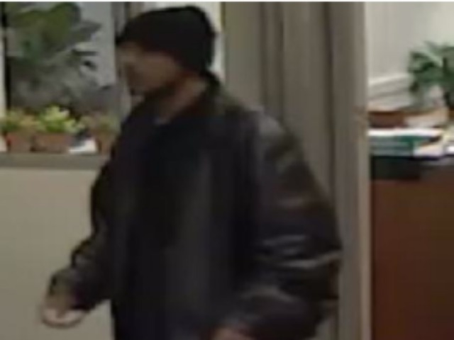 A surveillance photo of a man sought in connection to iPhone muggings near Columbia University.