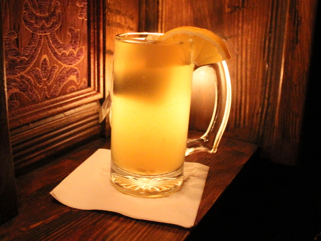 <p>Shoolbred&#39;s on Second Avenue in the East Village offers a the Hot Toddy with green tea, honey, fresh orange, cinnamon and of course a healthy pour of Scotch.</p>