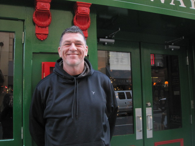 Blarney Rock bartender James Donovan said he's glad to see the Knicks returning to the court.
