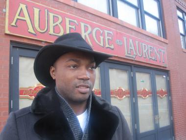 Auberge Laurent owner Lawrence Page says he wants his new wine lounge to be about good conversation and good friends.