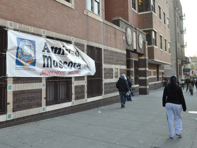 <p>Muscota New School shares its space with Amistad Dual Language School in Inwood.</p>