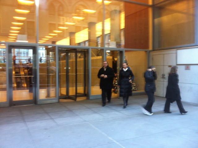 <p>A memorial service for ad executive Suzanne Hart was held at the PricewaterhouseCoopers Center on Madison Avenue, a few doors down from where she died in an elevator accident.</p>