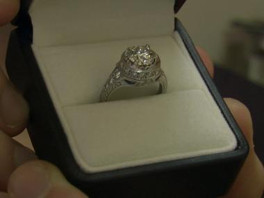 An Afghanistan veteran sold this ring on I Do Now I Don't after walking in on his fiance in bed with another man.