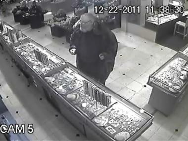 This man is wanted for allegedly stealing a $75,000 emerald from Astro Gallery of Gems at 185 Madison Ave. on Dec. 22, 2011.