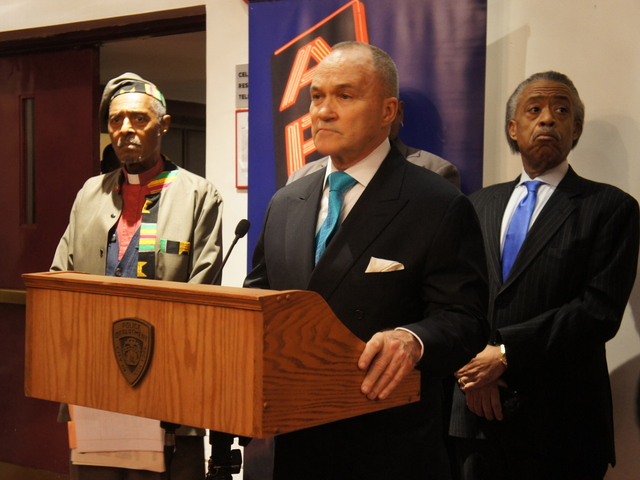 Police Commissioner Ray Kelly attends an NYPD multicultural immersion course at the Apollo Theater.