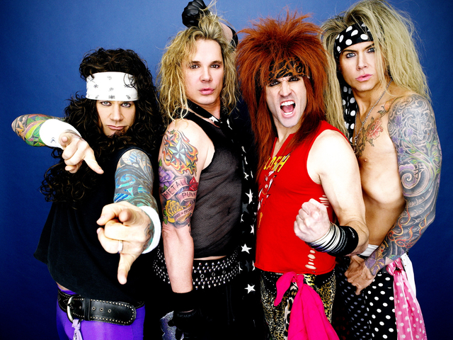 Foul-mouthed rockers Steel Panther describe themselves as the hottest band out of Hollywood since Motley Crue, Guns N' Roses and Poison ruled the Sunset Strip. Wednesday night they strut their stuff at Irving Plaza.
