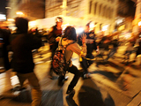 Occupy Wall Street Protesters Make Slow Return to Zuccotti Park
