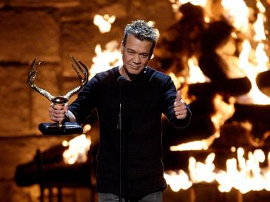 Eddie Van Halen received Spike TV's 2009