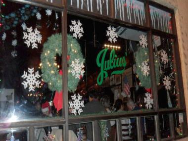 The state historic preservation office said Dec. 17, 2012 that it has determined the Greenwich Village gay bar Julius' is eligible for listing on the National Register of Historic Places.