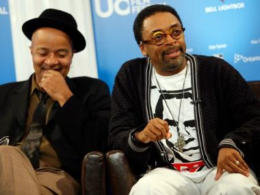 Director Spike Lee speak will host President Barack Obama at a fundraiser on Jan. 19, 2012.