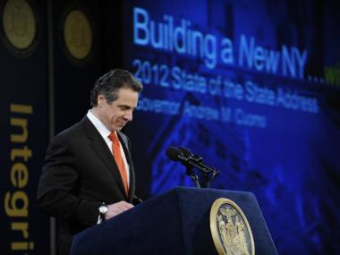 Gov. Andrew Cuomo  had promised to veto any lines drawn by lawmakers.