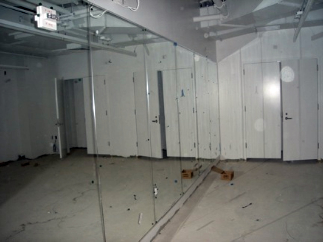 A dance room at the Battery Park City community center, shown in January 2012.
