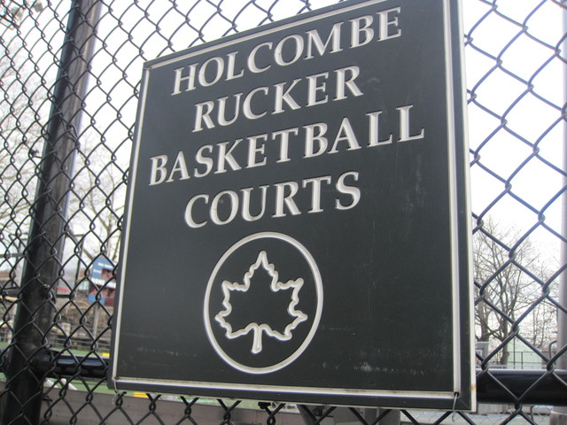 <p>Community Board 10 is considering adding Rucker Park at 155th Street and Frederick Douglass Boulevard in Harlem to a list of sites and areas it wants to landmark.</p>