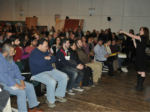 Community members turned our in droves to support the business owners impacted by the Jan. 3, 2012 fire.