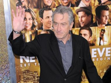 Robert DeNiro is is hosting a fundraiser for Community Board 1 Chair Julie Menin, just ahead of the next filing deadline.