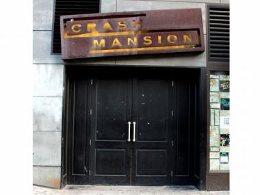 The former Crash Mansion and BLVD nightclub at 199 Bowery.