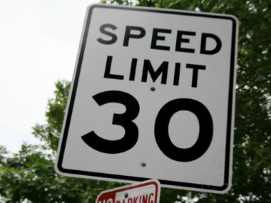 The speed limit throughout much of the city is 30 miles per hour. Transportation advocates are pushing to install cameras throughout the city to police drivers who exceed that speed.