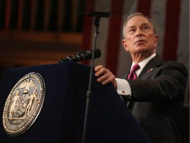 Bloomberg delivered his 11th State of the City address on Jan. 12, 2012.
