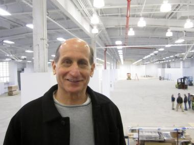 Bruce Radler, Basketball City's founder, hopes to open the new space in March 2012.