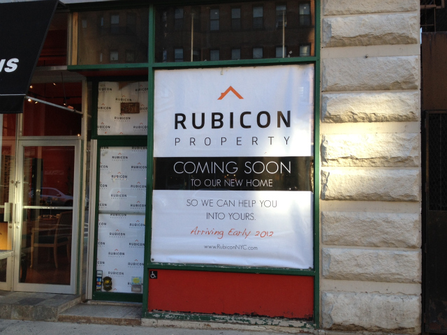Rubicon Property, on Columbus Avenue, is a real estate firm that donates part of its profits to building wells in Africa.